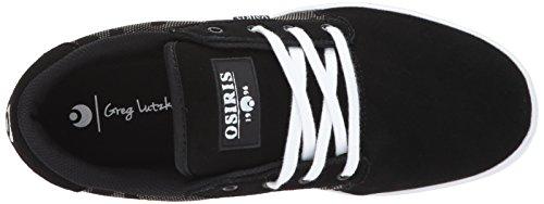 Osiris Chaussure Mesa Noir-Blanc-Hawaiian Covert/Ops/Lutzka