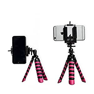 iPhone Tripod with FREE Universal Phone Holder | YT CLUB TRIPOD: STYLISH, PORTABLE & GREAT MINI PHONESTAND | 2 in 1: Works with ANY Compact Camera AND any Smartphone