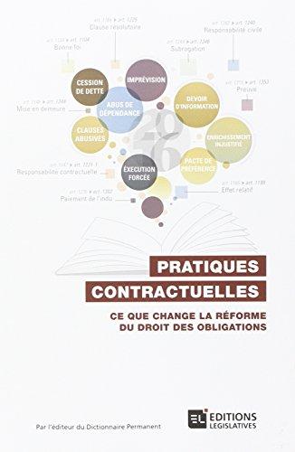 Pratiques contractuelles
