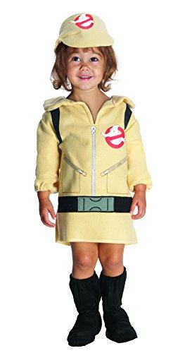 Girl 's Ghostbuster Kleinkind 1–2Fancy Kleid 1980er Halloween Ghostbusters (Kostüme Buster Ghost)