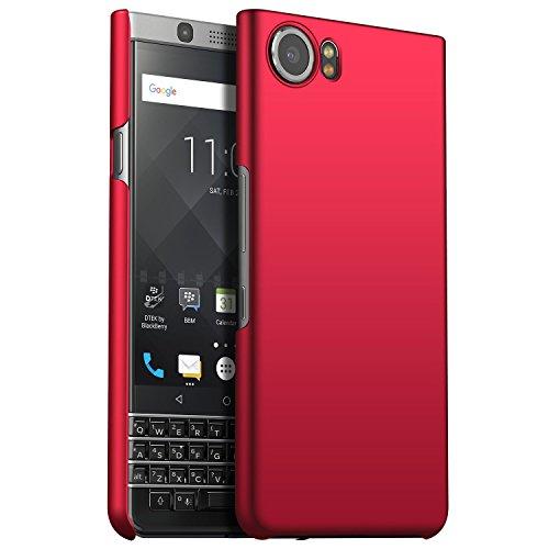 CiCiCat BlackBerry Keyone Hülle Handyhüllen, Hard PC Back Cover Case Schutz Hülle Tasche Schutzhülle Für BlackBerry Keyone. (BlackBerry Keyone 4.5'', Rot) -