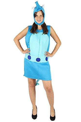 Kostüm für Kinder zu Fasching oder Karneval Tierkostüm Unterwasserkostüm Größe 110-116 ()