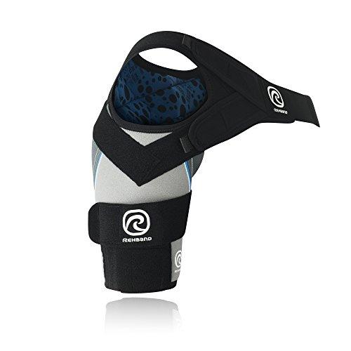 Rehband Bandage Schulterbandage X-Stable links, Grau, S, 7731-21