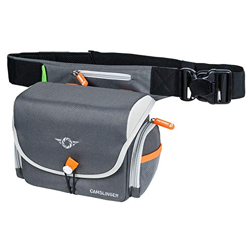 Cosyspeed CAMSLINGER Outdoor MK II Kameratasche mit Hüftgürtel grau