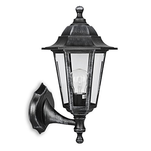 traditional-style-black-silver-outdoor-security-ip44-rated-wall-light-lantern