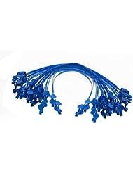 Levin Dental 20pcs Clips babero cadena de plástico azul herramientas