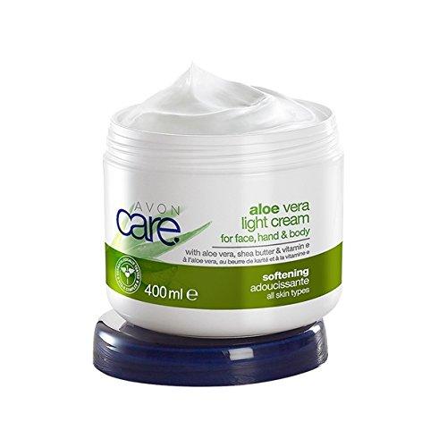 Avon Care Family Aloe Vera leichte Creme für Gesicht, Hände & Körper 400ml