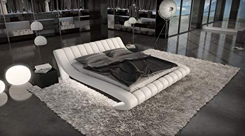 Sofa Dreams Designer Bett Ferrara Bettgestell mit LED Beleuchtung 140x200, 160x200, 180x200, 200x200, 200x220 -