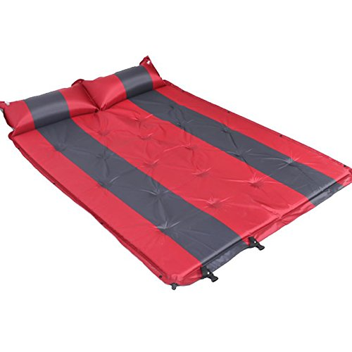 Gyp Outdoor Suv Common Car Bed Automatic Charge Mattress Moisture Proof Pad Car Shock Bed Tent Mat Air Bed Air Cushion Color Red Size