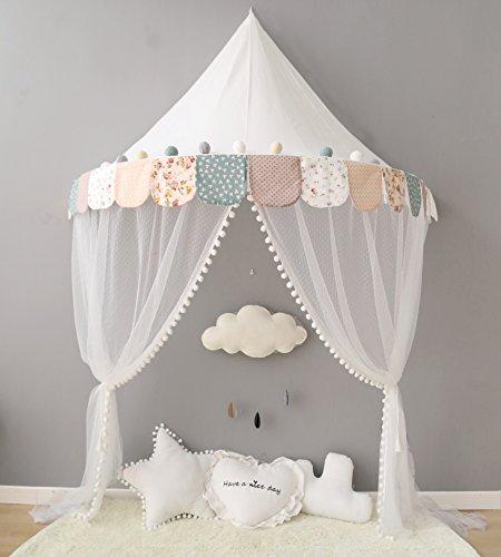 Here&There Kinder Zelte Spielzelt für Mädchen Kind Zelt Spielplatz Prinzessin Schloss Baby Zelte Test