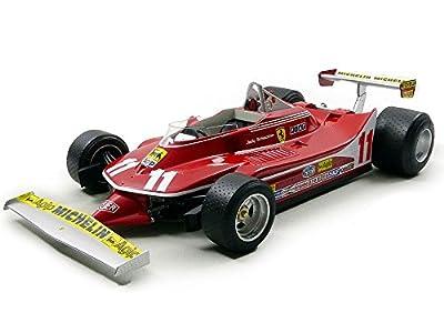 GP Replicas GP001Ferrari 312T4Scheckter World Champion 1979Maßstab 1/12, rot von GP REPLICAS