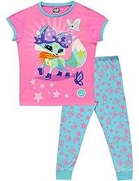 Animal Jam Pijamas de Manga Corta para niñas