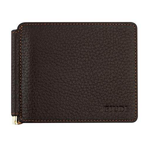 81887414579a Giudi Deluxe Money Clip CardHolder for Men - Made in Italy - Holds 6 Credit  Cards - Beautiful and Durable Genuine Leather - Perfect Gift for Men in ...