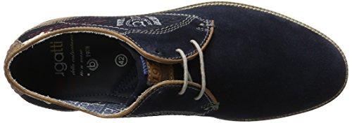 Bugatti 311256031400, Derby Homme Bleu (Dark Blue 4100)