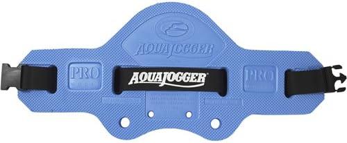 Aqua-Jogger Pro Average Men's Waist Buoyancy Belt, Blue