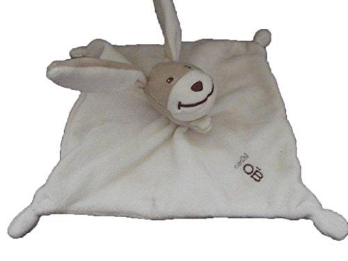 Obaibi / Okaidi - Doudou Obaibi okaidi lapin plat blanc marron - 199