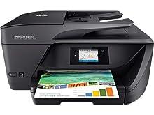 HP OfficeJet Pro 6960, Stampante Multifunzione a Getto di Inchiostro, Scanner, Fotocopiatrice e Fax, ADF, Wi-Fi, Wi-Fi Direct, Ethernet, App HP Smart, 6 Mesi di Servizio Instant Ink Inclusi, Nero