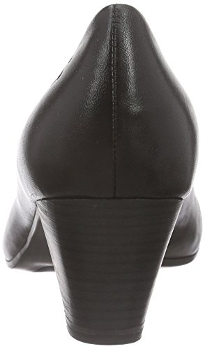Caprice 22416, Escarpins femme Noir (black Nappa 22)