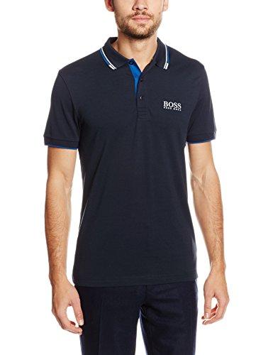 BOSS Athleisure Herren Poloshirt Paddy Pro Blau (Navy 410)