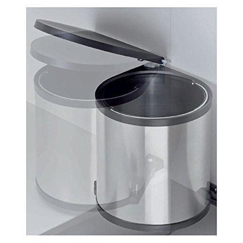 einbau-abfallsammler-kcheneimer-15-liter-rund-silber-optik-schwenkbar-fr-schranktren-ab-40-cm-schran