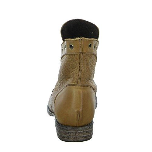 BOXX K4310 Damen Schnürstiefelette Kaltfutter sportlicher Boden Braun (Braun)