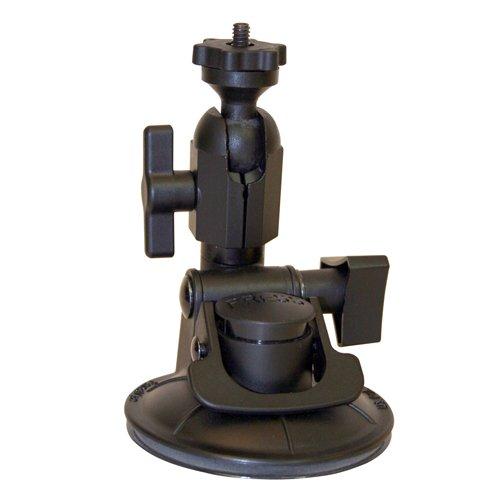 Panavise ActionGrip Kamera-Halterungsset, mit Saugnapf, Mattschwarz, Single Knuckle, Matte Black, 6.00 x 3.00 x 6.00 Panavise Mount