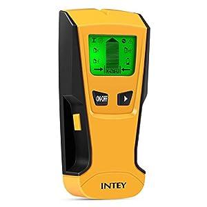 INTEY – 3 EN 1 Pantalla LCD Detector De Pared para Detecta AC Cable ,Metal Tuberías,Madera En La Pared DCemento,Azulejos