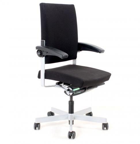 "Bürodrehstuhl \""SITAG\"" schwarz, 5-Sternfuß, gebrauchte Büromöbel"