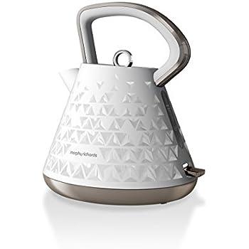 Wasserkocher Modern amazon de morphy richards 108102ee prism wasserkocher 1 5 l weiß