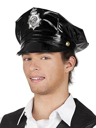Generique - Casquette Policier Noire Adulte