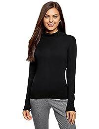 selezione migliore f9646 acceb maglione bianco - Nero / Donna: Abbigliamento - Amazon.it
