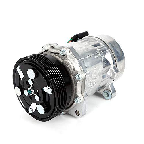 YUNRUX 1J0820803 Klimakompressor Klimaanlage Innenraumheizung Motorkompressoren Auto Ersatz Klimaanlage verdichter Kompressor für Audi A3 VW Golf IV Ford Galaxy 1.9TDI