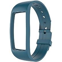 Activity Tracker IP67, GULAKI Orologio Fitness Tracker Cardio Contapassi Cardiofrequenzimetro da Polso Braccialetto Bluetooth Impermeabile IP67 per Outdoor Corsa e Ciclismo, Bracciale Smartwatch, Smar (blue1)