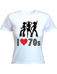 I Love The 70s Women's T-Shirt (choice of colour)
