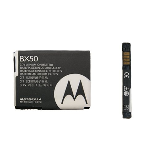 Handy V9 Motorola (KGC Import Original Akku Motorola bx-50/BX50Für Schutzhülle Motorola RAZR2V9–RAZR2V8)