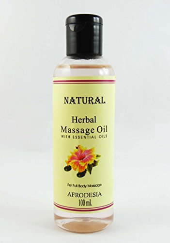 Huile de massage Afrodesia Natural Herbal Avec huile essentielle pour 100 ml Full Body