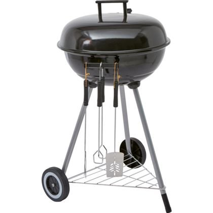 47cm Starter Kit BBQ with Tools and Cover - 1 Year Guarantee
