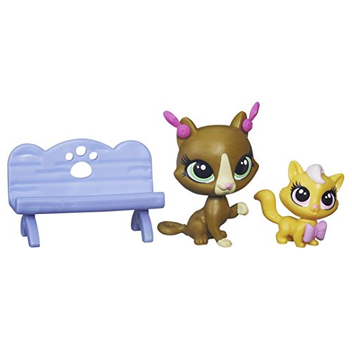 Littlest Pet Shop Pets In The City Begonia Gatto 146 & Darling Gatto 147