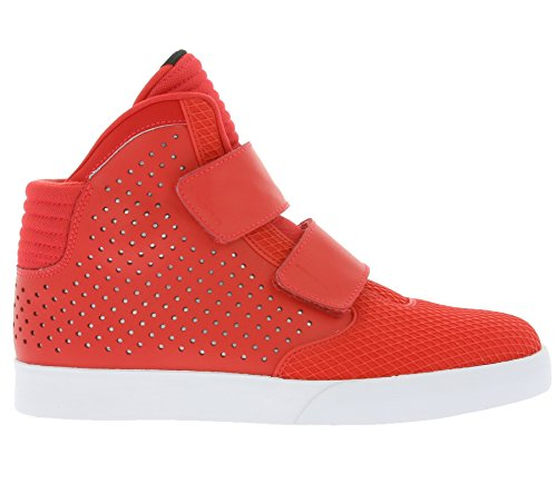 Nike Flystepper 2k3 Prm, Chaussures de Sport Homme Rouge - Rojo (Rojo (Action Red/Action Red-White))
