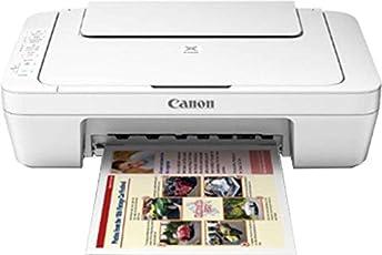 Canon Pixma 3077S Multifunction Inkjet Color Printer (White)