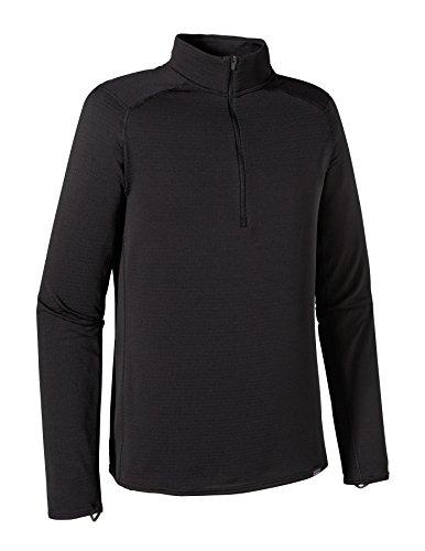 Patagonia Capilene Thermal Weight Zip Neck Shirt Men - Thermoshirt Black