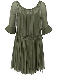 Dorothee Schumacher Mujer Summer Breeze Dress Playful Green
