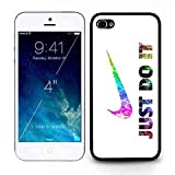 New Stylish Pattern Cover Coque Pour Iphone 5c- Nike Logo Just Do It Pattern Plastic...