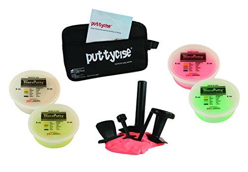 puttycise Handtrainer Putty Werkzeug-Sets mit Theraputty, 6 oz Kit, multi, 1 (Putty Kit)