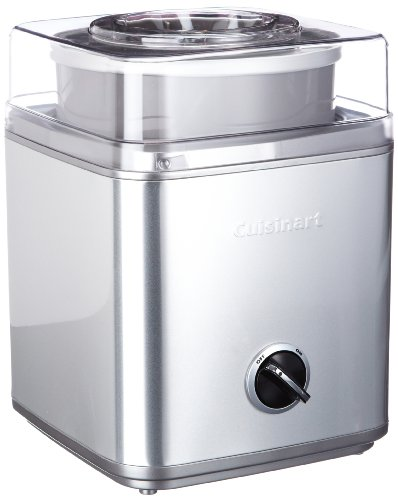 Cuisinart ICE30BCE - Heladera, color gris