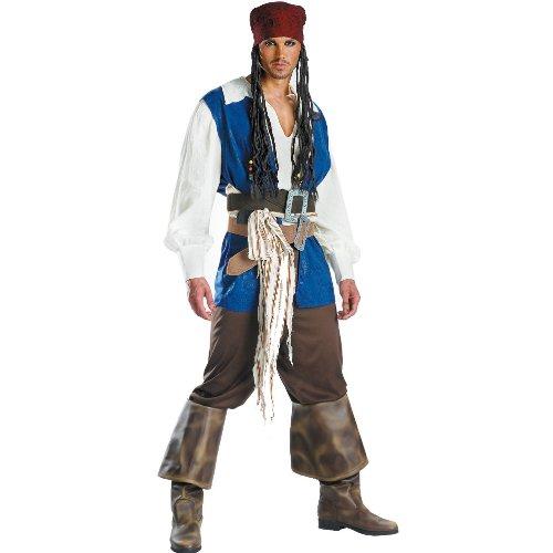 Traje adolescente Disfraz 5101T Capit-n Jack Sparrow Calidad