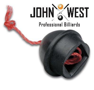 John West Billard Kreidehalter mit Kordel