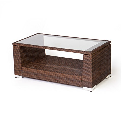Vanage Gartengarnitur, Chill und Lounge Set Rom, braun - 4