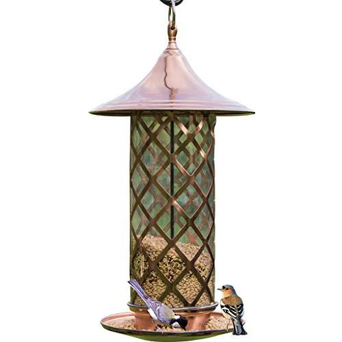 HZPXSB Wild Feeding Bird Stand mit Feeder Wasser und Samen Tablett Perfekte Garten Outdoor Feeder Tisch Boden Nagel Basis - Wild Bird Feeding Station