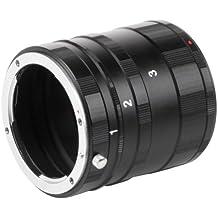 Walimex 17123 - Tubo de extensión para objetivos, color negro
